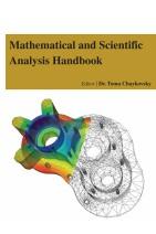 Mathematical and Scientific Analysis Handbook